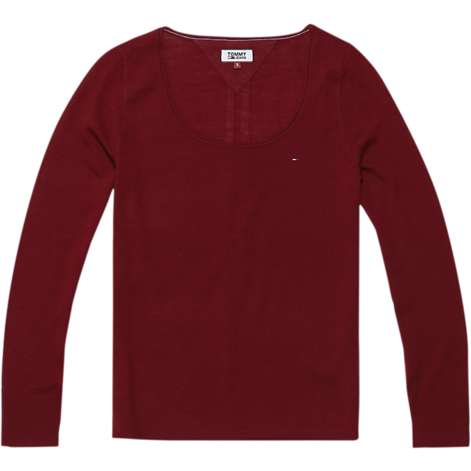 Tommy Jeans Crew Neck Merino Wool Knit 5128