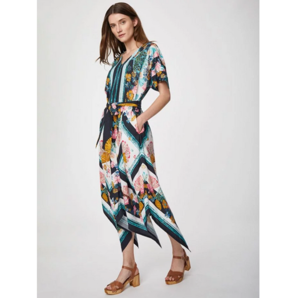 Thought Rhoda Tencel™ Print Maxi Dress WSD4662