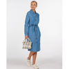 Barbour Tynemouth Chambray Denim Dress LDR0399