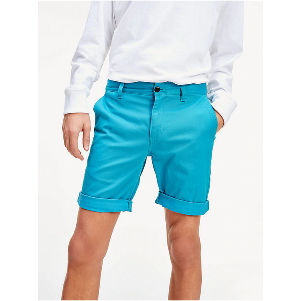 Tommy Jeans Men's ESSENTIAL CHINO SHORTS DM0DM05444 - Exotic Teal