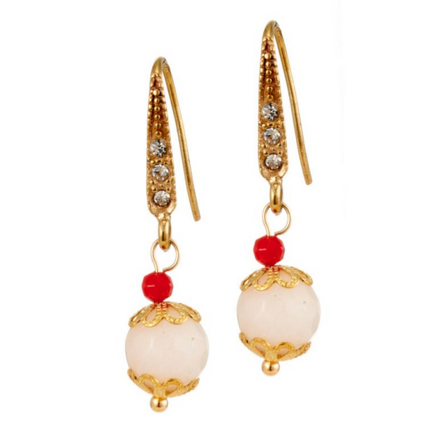 Rosie Fox Ruby Rose Earrings 347