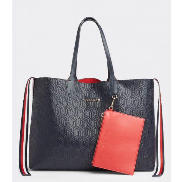 Tommy Hilfiger ICON EMBOSSED TOTE 8280