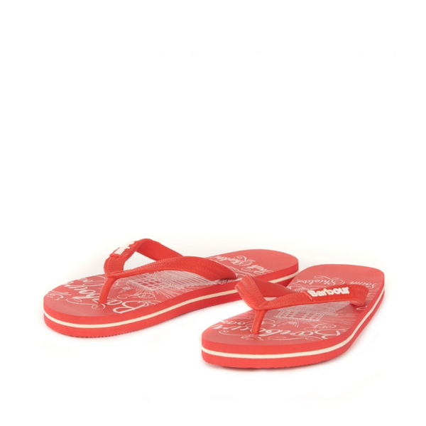 Barbour Beacon Print Flip Flop LBS0001