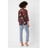French Connection Eloise Crinkle Blouse 72NBZ