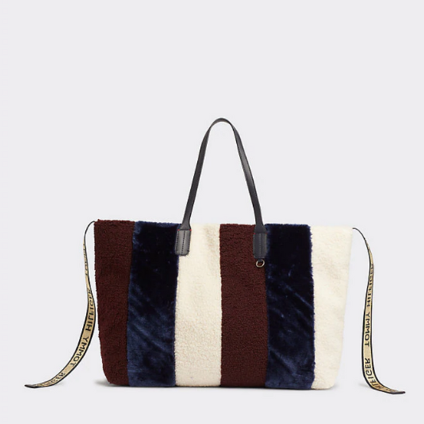 Tommy Hilfiger Icon Stripe Fur Bag 7504