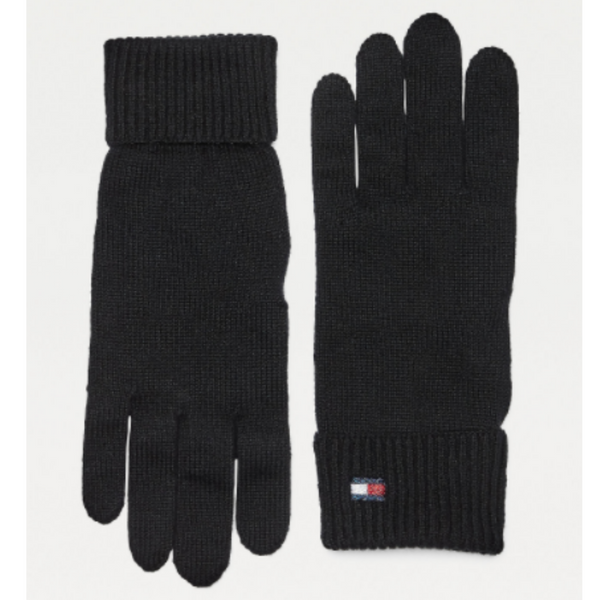 Tommy Hilfiger Essential Knit Cotton Cashmere Blend Gloves 9027