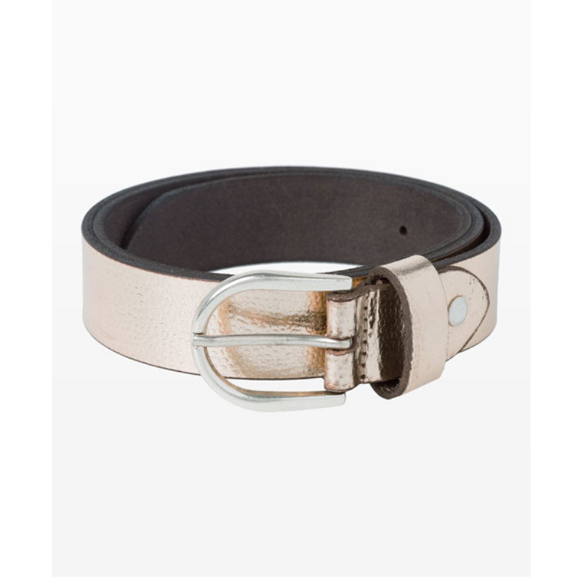 Brax Rose Gold Leather Belt  52-0807