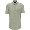 Fynch Hatton Supersoft Pure Cotton Shirt 1120-8141 - Green