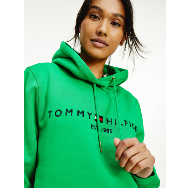 Tommy Hilfiger Essential Fleece Hoody Primary Green 6410