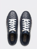 Tommy Hilfiger Jacquard Leather Trainer 4602