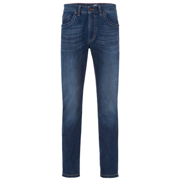 Gardeur SUPERFLEX Mid Blue Washed Jeans 470121