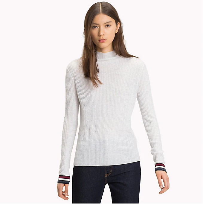 Tommy Jeans Cable Knit Crew Neck Jumper 5149