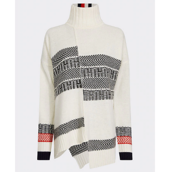 Tommy Hilfiger Patchwork Fairisle Jumper 26417