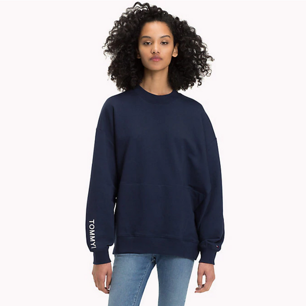 Tommy Jeans Oversized Tape Detail Sweatshirt 4090
