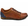 Lacuzzo Italian Leather Smart Trainers LD2123S