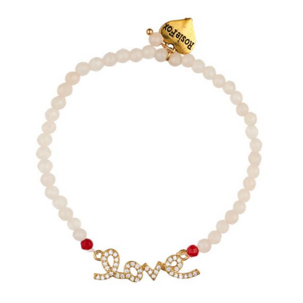 Rosie Fox Ruby Rose Love Bracelet 600