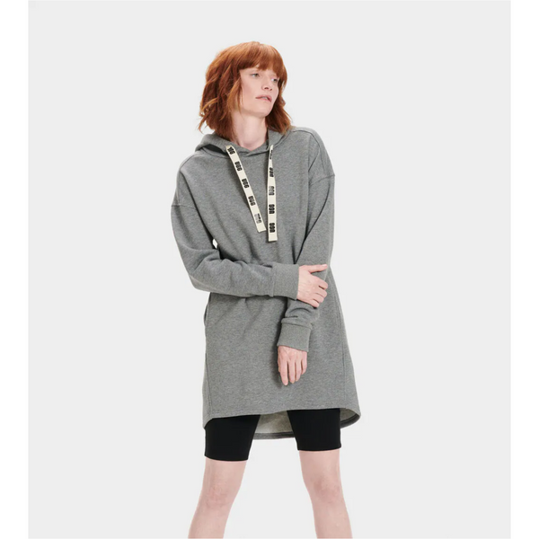 Ugg Women's LUCILLE HOODIE DRESS - Grey Heather