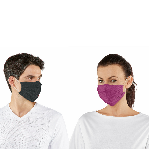 Falke Adjustable 2-pack unisex mouth-nose Mask 44801