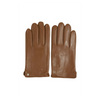 Matinique Gray Leather Gloves - Cognac 30203013