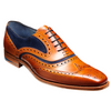 Barker Mcclean Suede Brogues 382926F