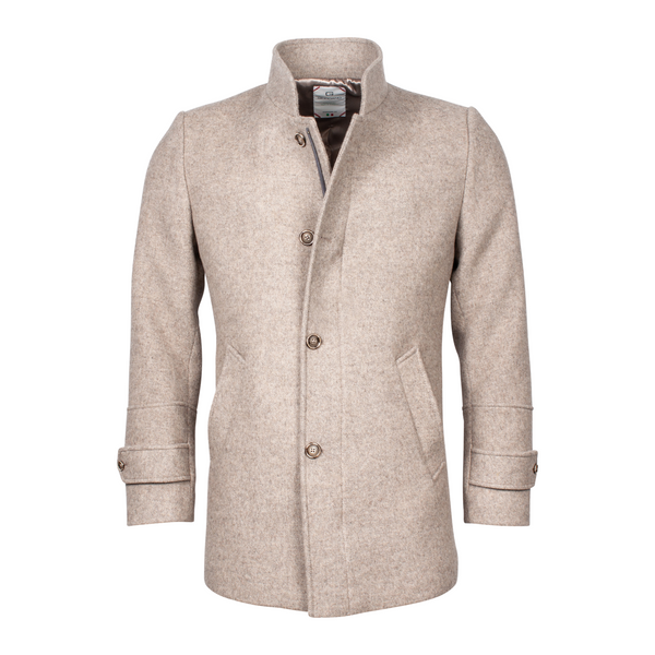 Giordano Wool Mix 3/4 Jacket Beige 202621