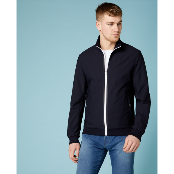 Remus Uomo Slim Fit Track Garrix Jacket 80309 - Navy
