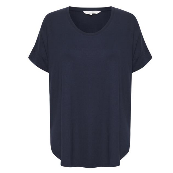 Part Two Falas Navy Tee 4595