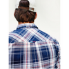 Tommy Jeans ESSENTIAL PLAID CHECK SHIRT - Twilight/Navy DM0DM08103