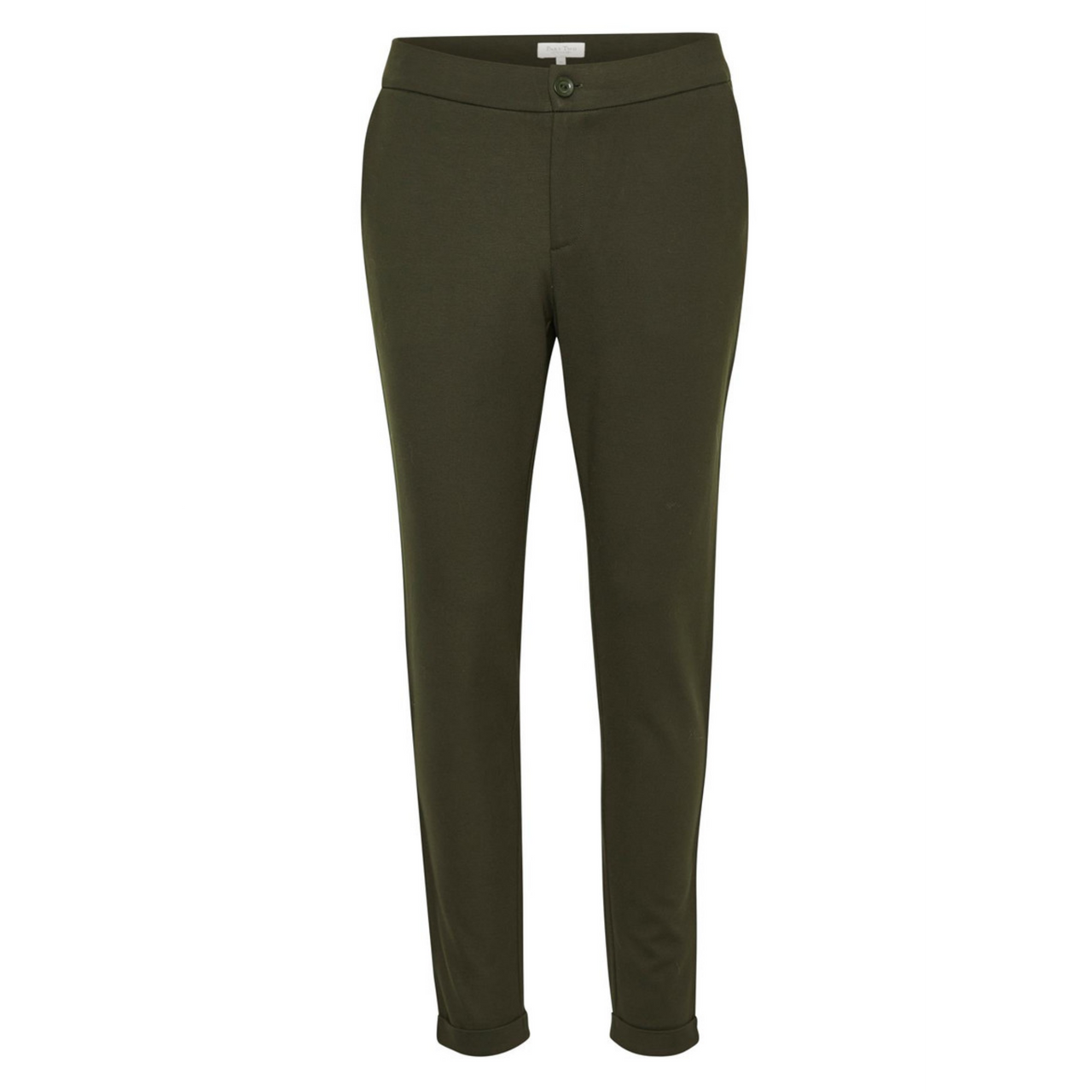 Part Two Mighty Trouser in Olive 30303514