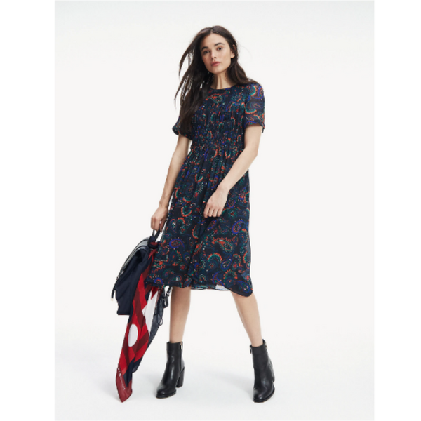 Tommy Hilfiger Blair Paisley Dress 26017