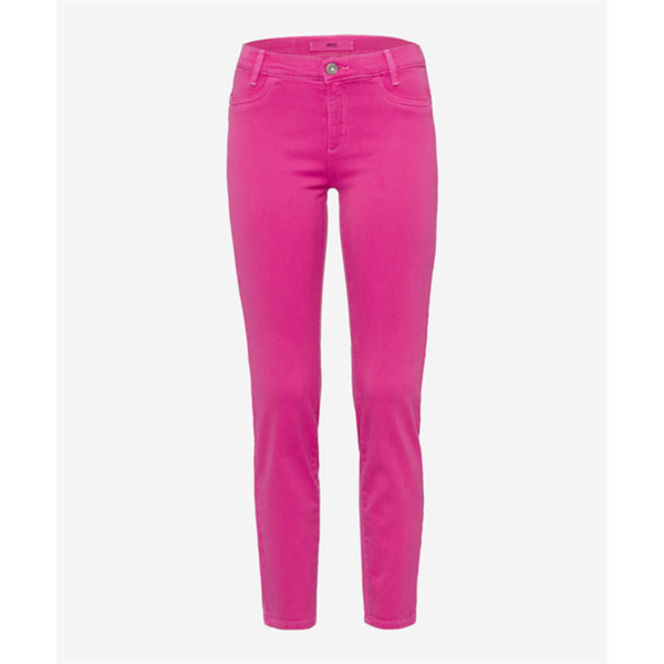 Brax Ladies Skinny Fit Push Up Jeans - Pink 72-6557