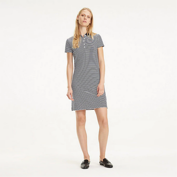 Tommy Hilfiger SHORT SLEEVE POLO DRESS Chiara