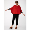 Thought Margeux Organic Cotton Wool Knit Poncho 3894