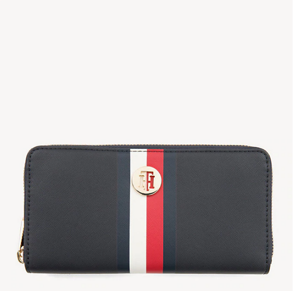 Tommy Hilfiger LARGE ZIP-AROUND Honey Wallet 6491
