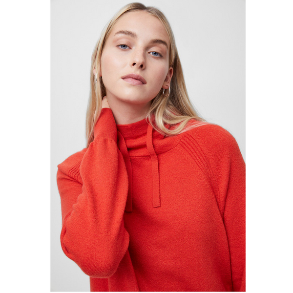 French Connection LINA VHARI LONG SLEEVE HOODIE 78QAB