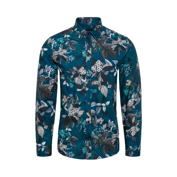 Matinique Robo Pure Cotton Clean Flower Print Shirt 30204059