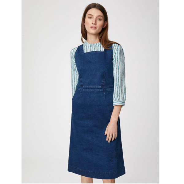 Thought Rosa Organic Denim Cotton Dress WSD4658