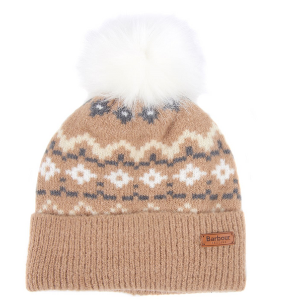 Barbour Roseberry Fairisle Beanie LHA0389