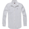 TOMMY JEANS MEN Original Cotton Stretch Shirt - White