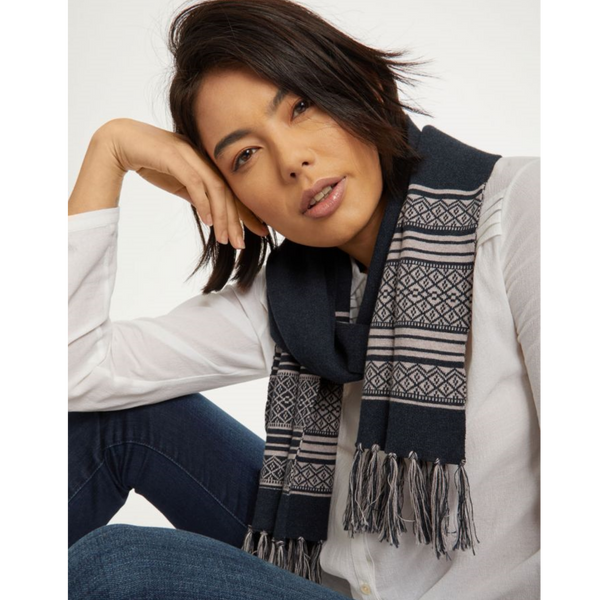 Thought Hedda Organic Cotton Wool Scarf 4467
