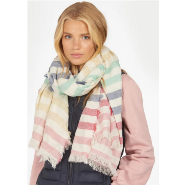 Barbour Beachfront Rainbow Wrap LSC0323
