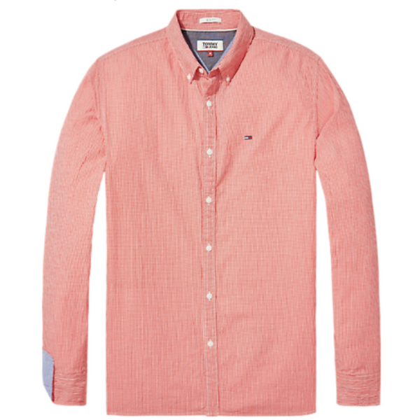 Tommy Jeans Essential Seersucker Slim Shirt 4182