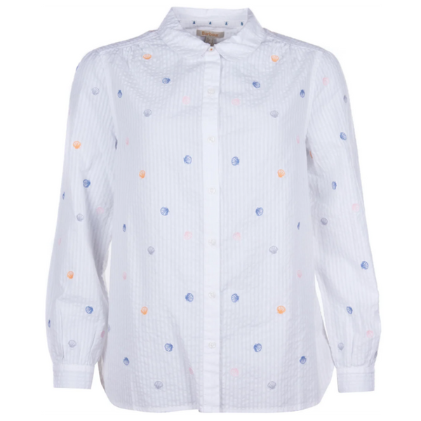 Barbour Seaford Embroidered Seashell Shirt LSH1318