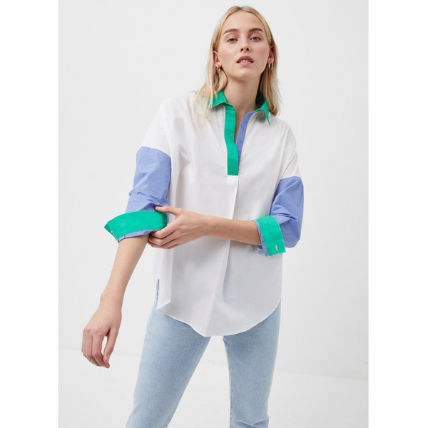 French Connection CEISES RHODES COLOUR BLOCK SHIRT 72QBR
