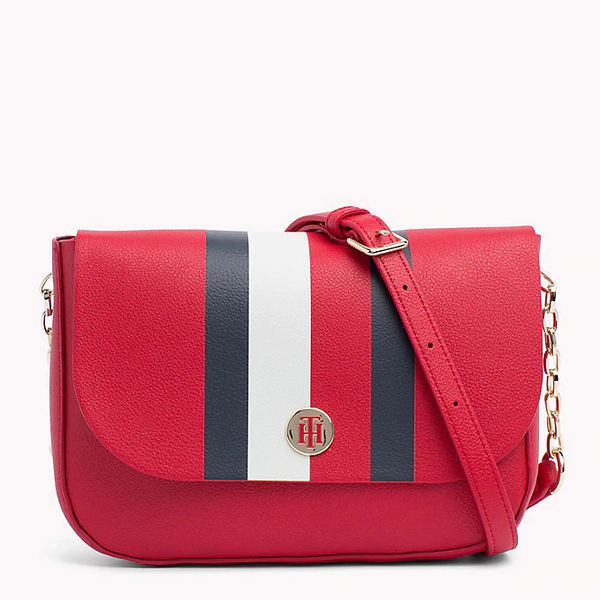 Tommy Hilfiger Monogram Crossover Bag with Reversible Flap 5637