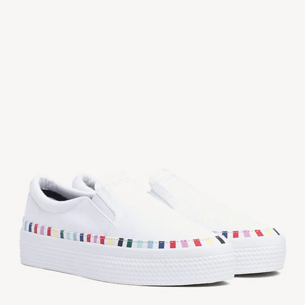 Tommy Hilfiger Slip On Flatform Trainers 4070