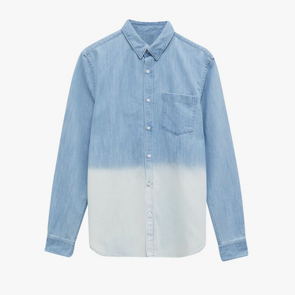 French Connection Slub Denim Men's Shirt 52pax