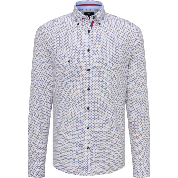 Fynch Hatton Supersoft Oxford Button Down Cotton Shirt 1220-5020