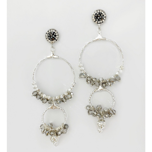 Bcharmd Zoe Oversized Handmade Earrings 00700ES