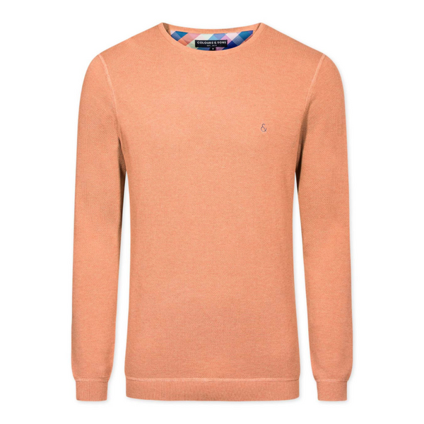 Colours And Sons 9119-160 Aaron Crew Jumper - Starfish